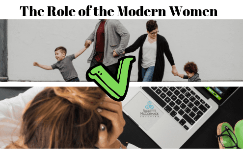 Many women today struggle to find the balance between the expectations stemming from so many roles they have including a working woman, a wife, a mom, a friend, a daughter, etc